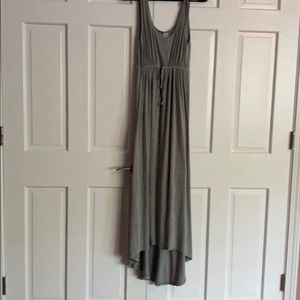 Old navy maternity high low maxi